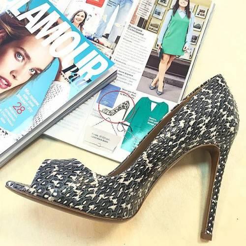 Туфли CORSOCOMO в публикации Glamour