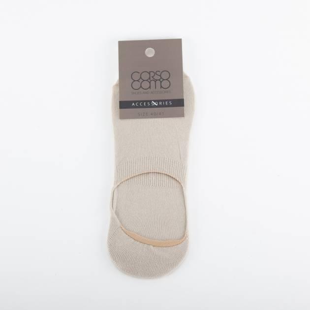 Носки короткие мужские бежевого цвета