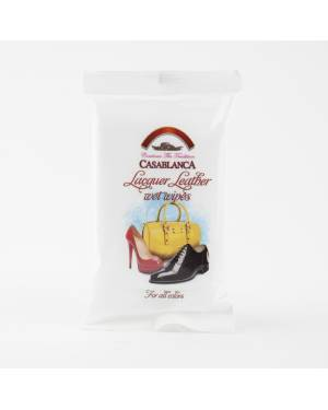 Влажные салфетки Casablanca для изделий из лакированной кожи