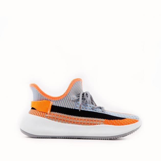 Мягкие кроссовки из текстиля мультиколор