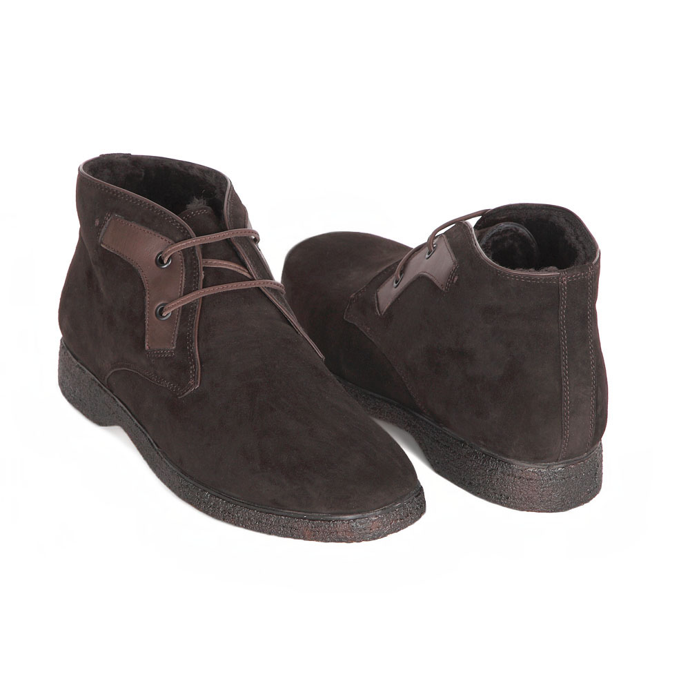 Мужские ботинки CorsoComo (Корсо Комо) 88-173-5017-7m мех Ботинки муж спилок кор.