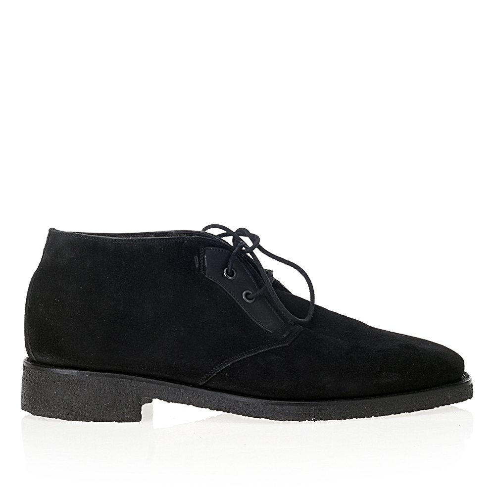 Ботинки из замши на шнуровке из капсульной коллекции MAX VERRE