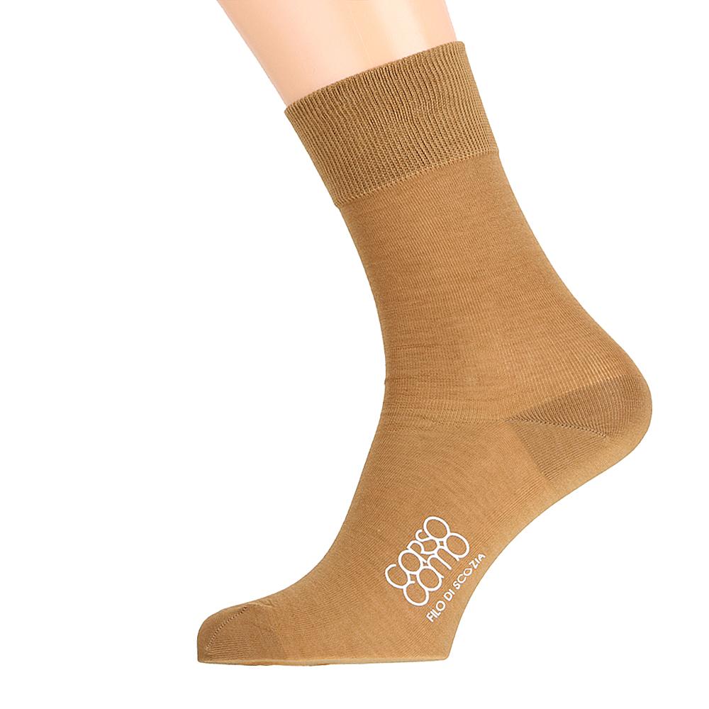 Носки CorsoComo (Корсо Комо) Носки мужские горчичного цвета