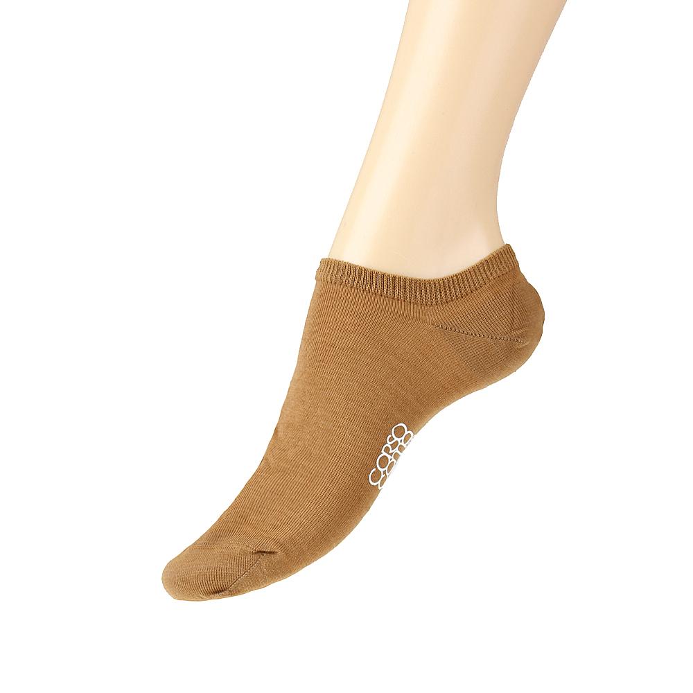 Короткие носки карамельного цвета