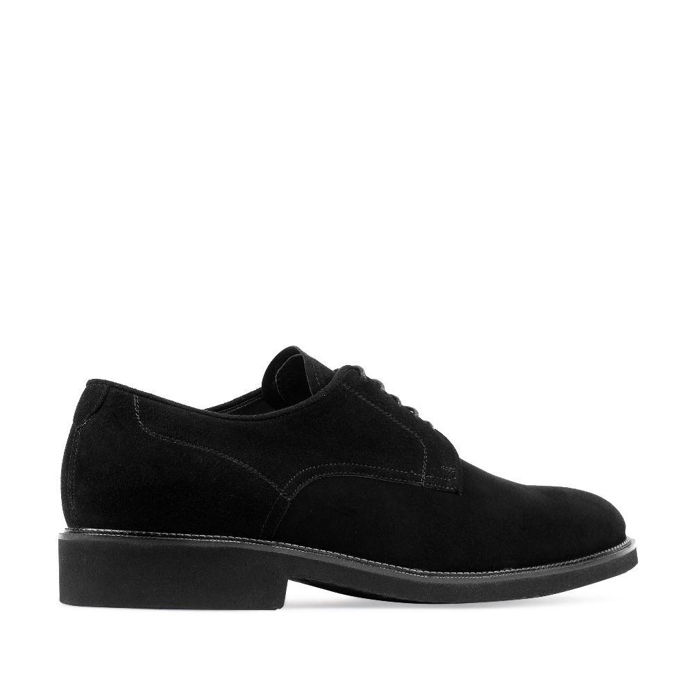 Мужские ботинки CorsoComo (Корсо Комо) 472101 к.п. Полуботинки муж велюр черн.