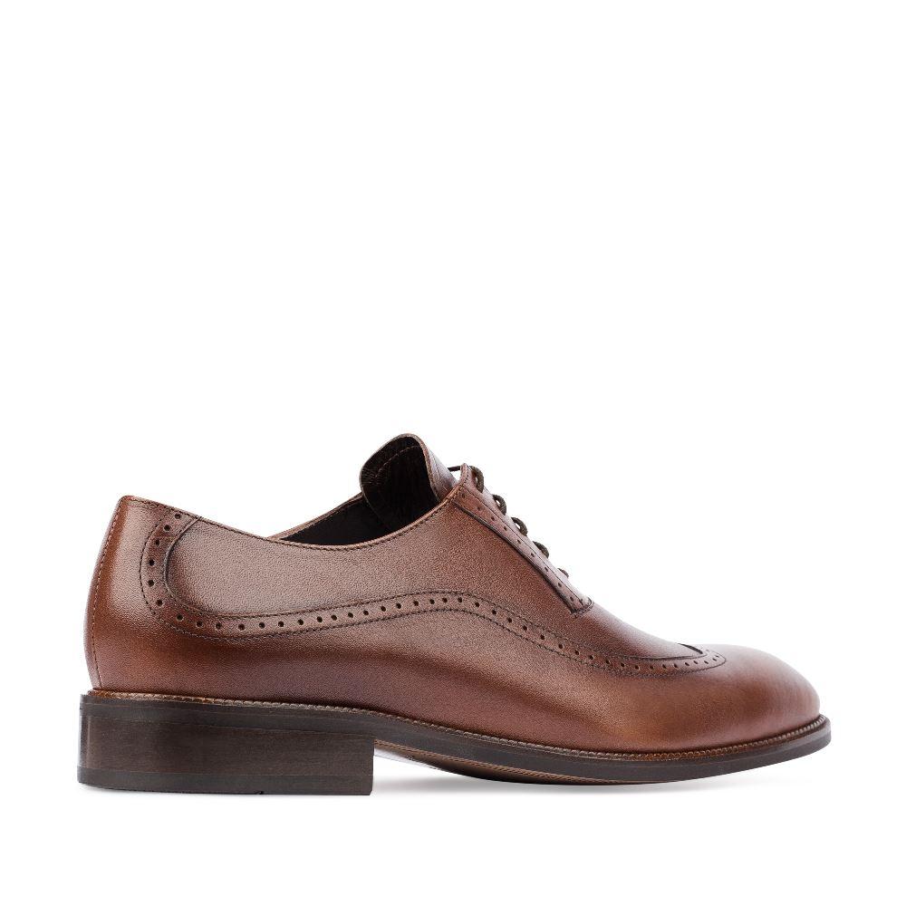 Мужские туфли CorsoComo (Корсо Комо) 48111/16 к.п. Полуботинки муж кожа корич.