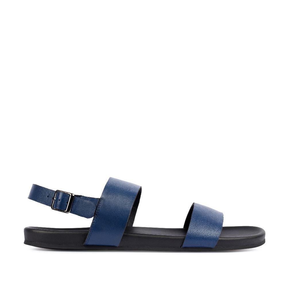 Сандалии мужские темно-синего цвета