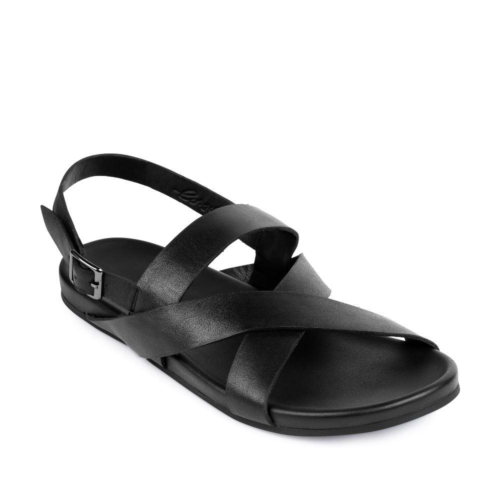 Мужские сандалии CorsoComo (Корсо Комо) 61-2726-3801-7 к.п. Сандалеты муж кожа черн.