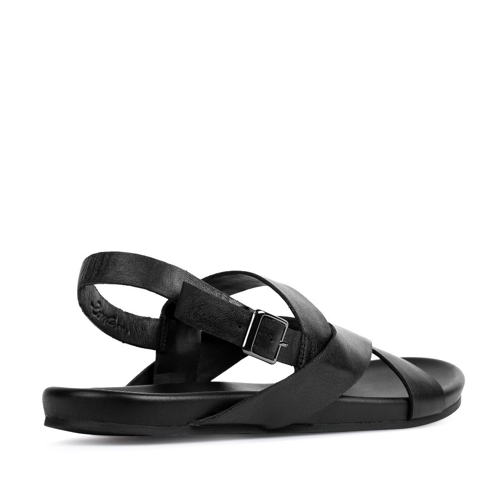 Мужские сандалии CorsoComo (Корсо Комо) 61-2726-38196-7 к.п. Сандалеты муж кожа черн.