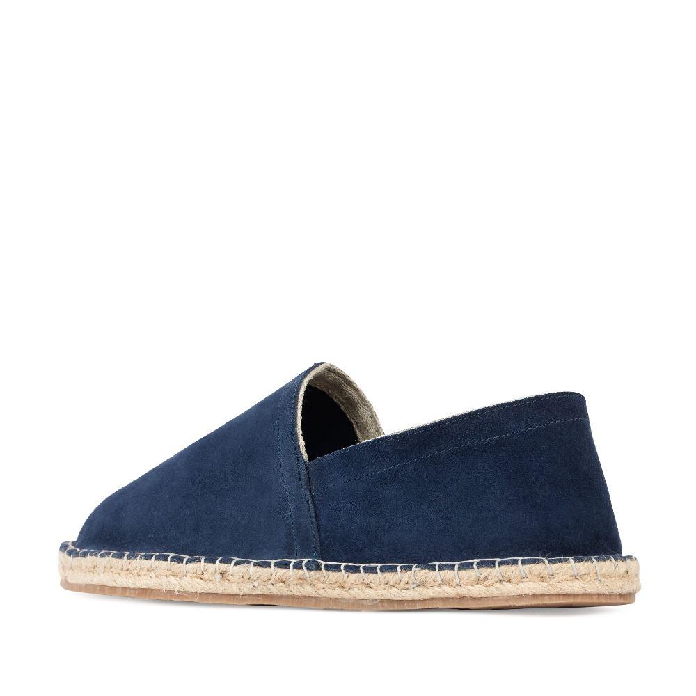 Мужские туфли CorsoComo (Корсо Комо) 83-1126-2-7 без п. Полуботинки муж текстиль син.