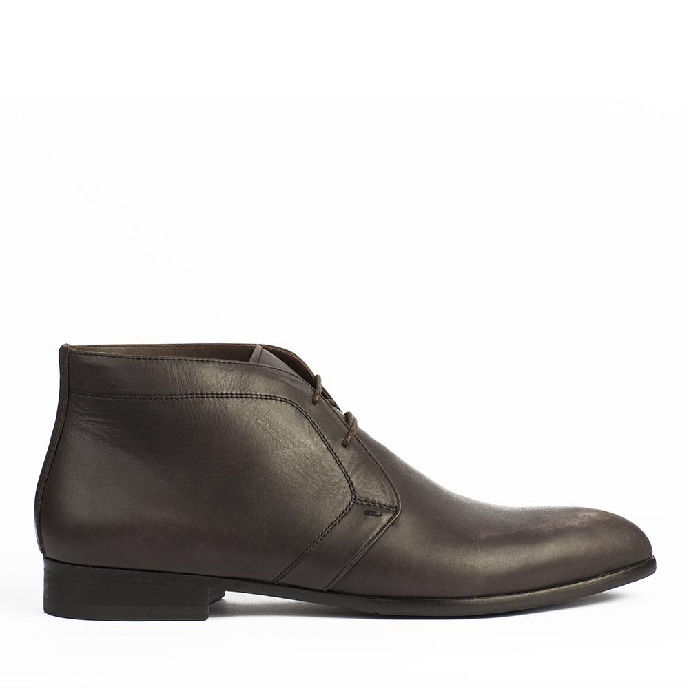 Ботинки-чукка кофейного цвета 88-010-80194-7