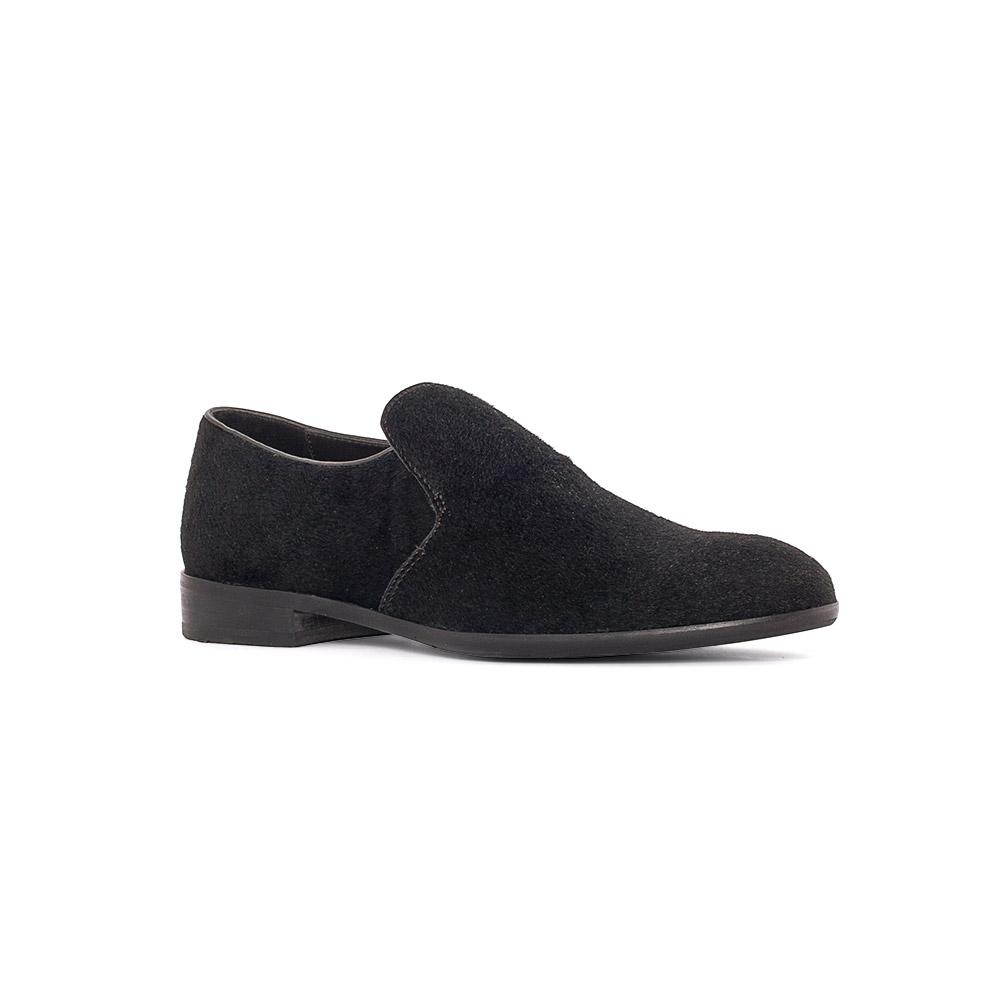 Мужские туфли CorsoComo (Корсо Комо) 88-010-9012-7 к.п. Полуботинки муж мех черн.