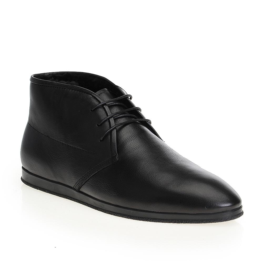 Мужские ботинки CorsoComo (Корсо Комо) 88-013-103284-7G1 мех Ботинки муж кожа чёрн
