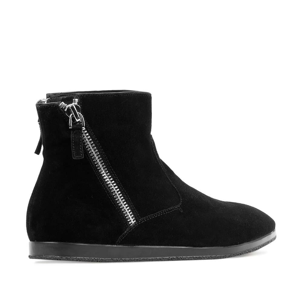 Мужские ботинки CorsoComo (Корсо Комо) 88-013-120279-7 к.п. Ботинки муж спилок чёрн.