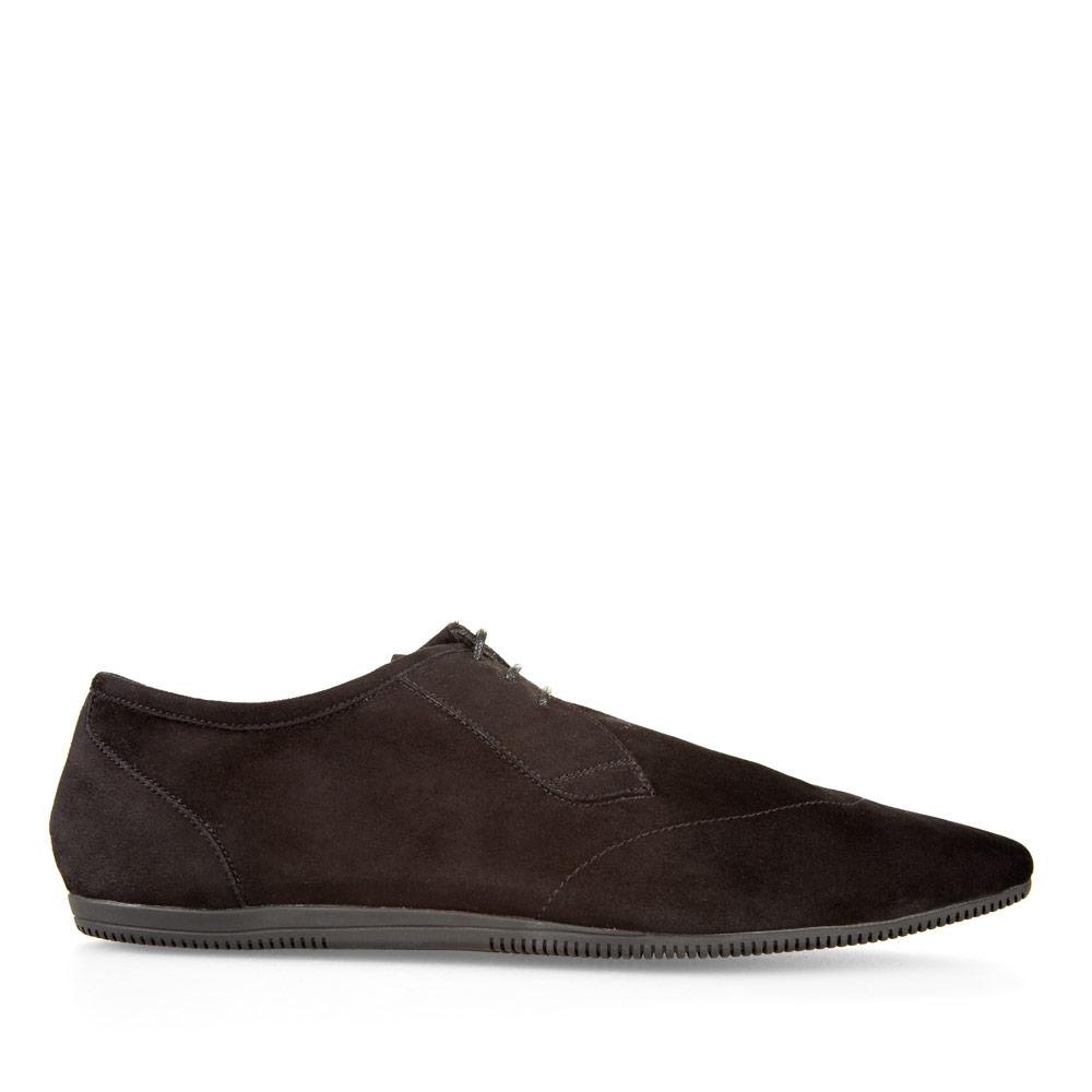 CORSOCOMO Ботинки черного цвета на шнуровке из замши 88-013-45193-0