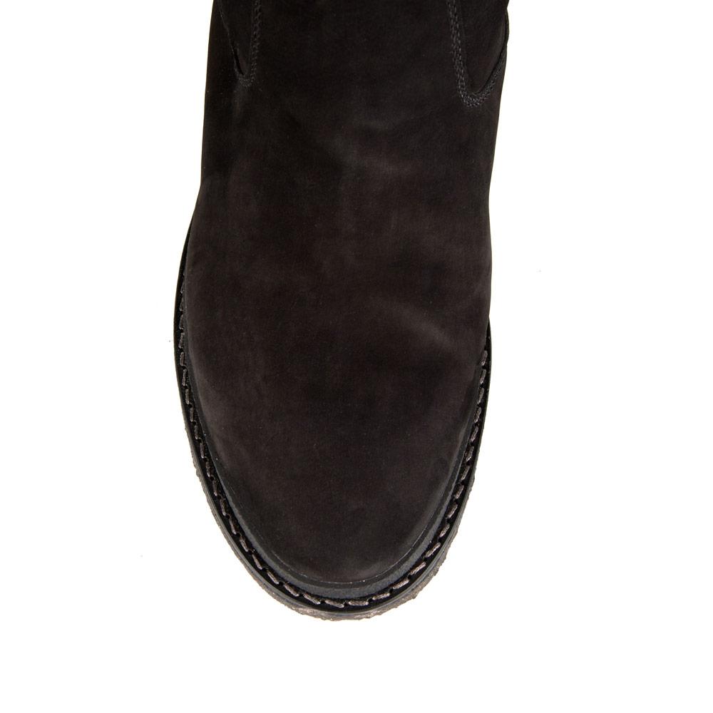 Мужские сапоги CorsoComo (Корсо Комо) 88-0345-17175-2 мех Полусапоги муж нубук черн.