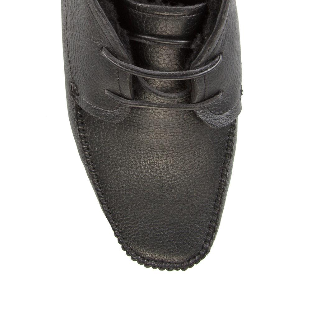 Мужские ботинки CorsoComo (Корсо Комо) 88-109-68159-2 мех Ботинки муж кожа черн.