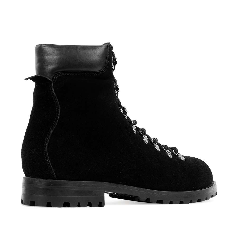 Мужские ботинки CorsoComo (Корсо Комо) 88-3206-05279-7G Мех натуральный Ботинки муж спилок черн.
