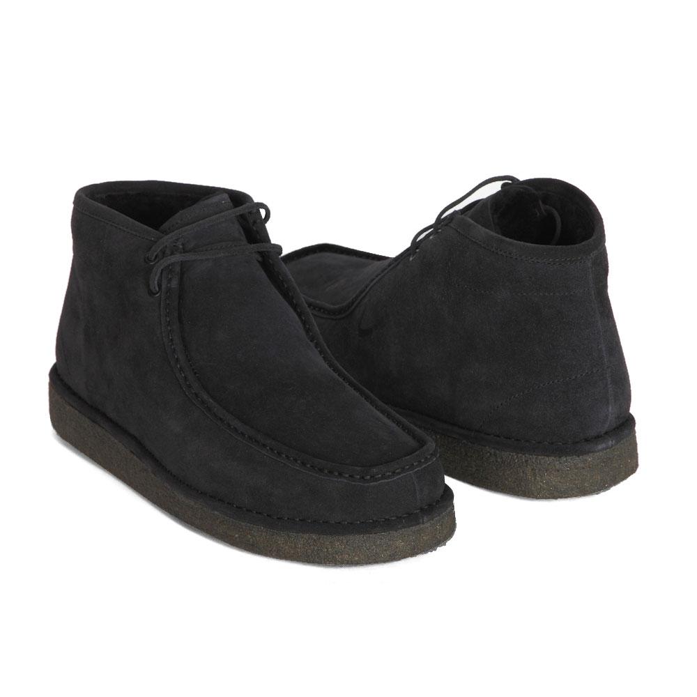 Мужские ботинки CorsoComo (Корсо Комо) 88-605-0315-7m мех Ботинки муж спилок т.син.