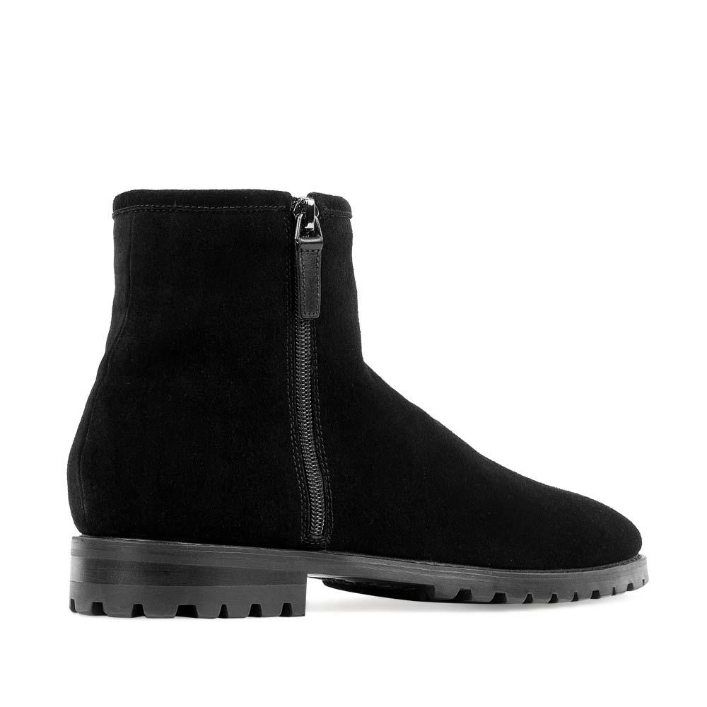 Мужские ботинки CorsoComo (Корсо Комо) 88-613-02279-2 мех Ботинки муж спилок чёрн.