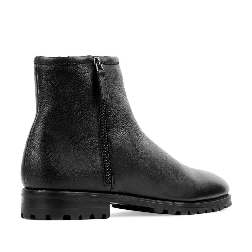 Мужские ботинки CorsoComo (Корсо Комо) 88-613-02284-2 мех Ботинки муж кожа чёрн.