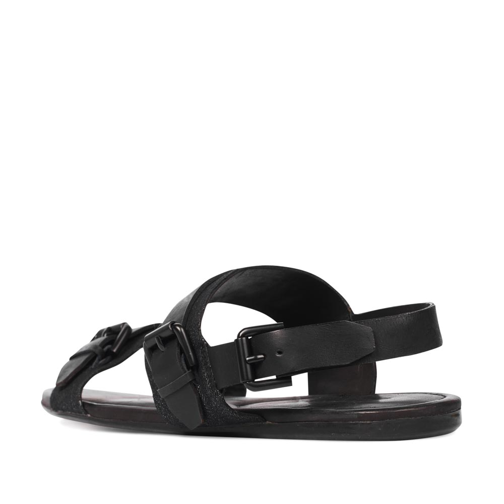 Мужские сандалии CorsoComo (Корсо Комо) 88-801-61224-7 к.п. Сандалеты муж текстиль черн.