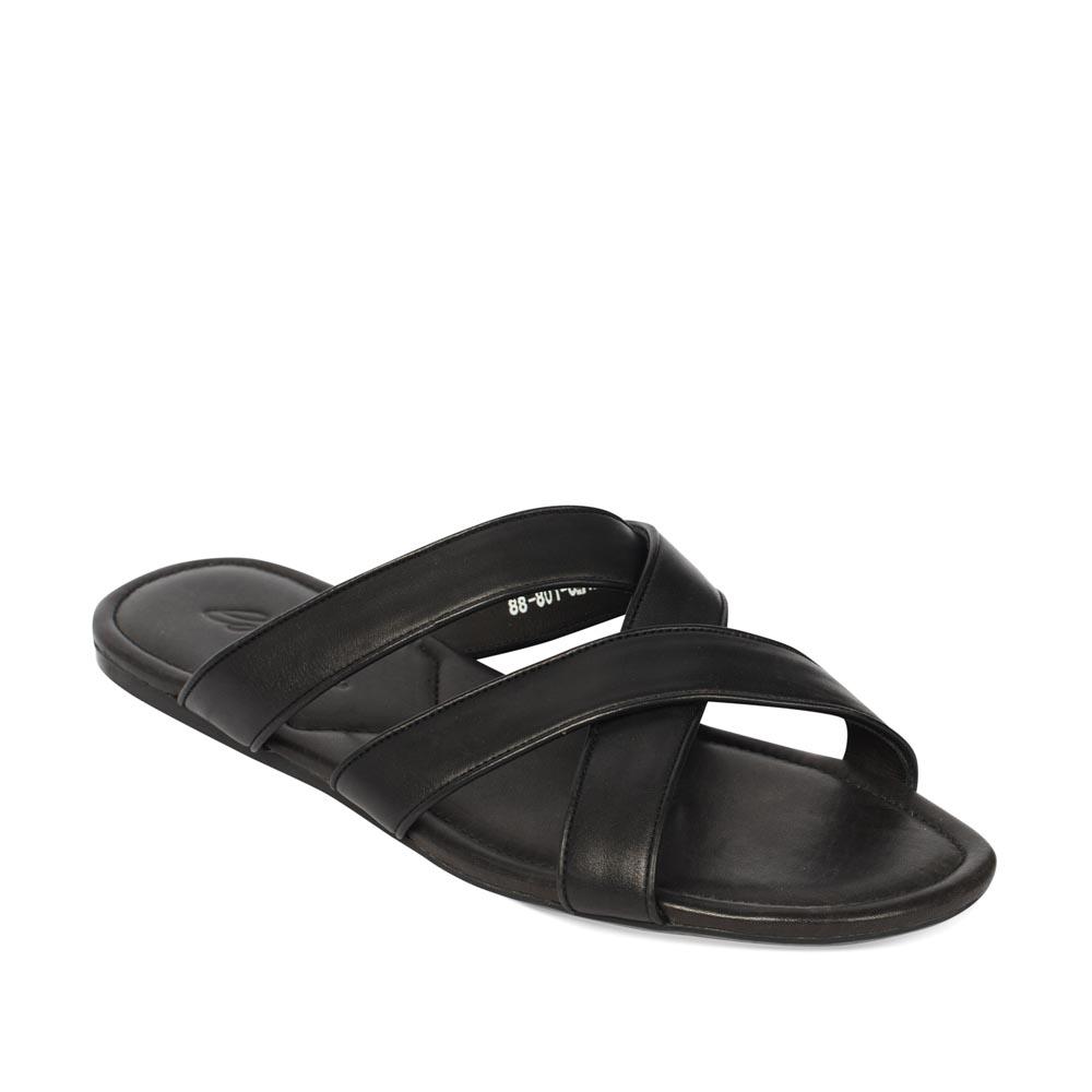 Мужские сандалии CorsoComo (Корсо Комо) 88-801-64129-7 к.п. Пантолеты муж кожа черн.: изображение 2