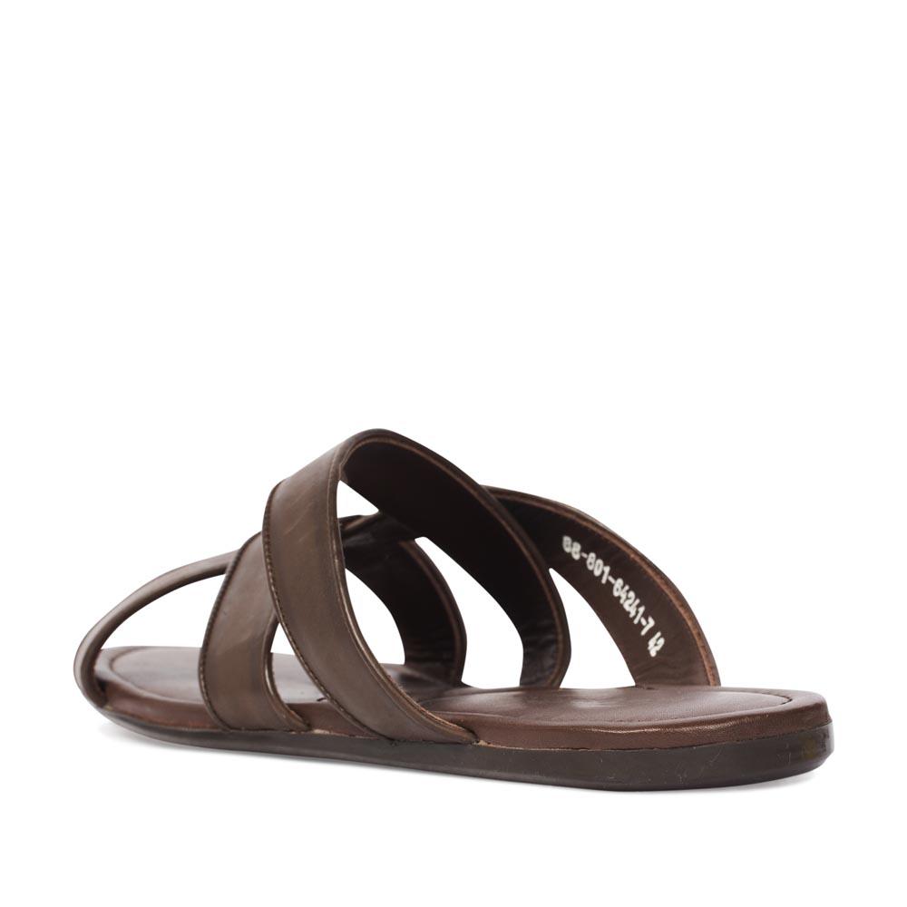 Мужские сандалии CorsoComo (Корсо Комо) 88-801-64241-7 к.п. Пантолеты муж кожа кор.