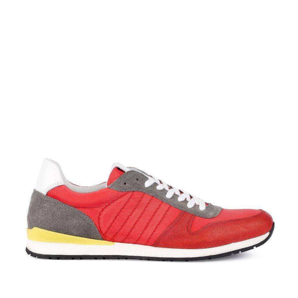 Кроссовки мужские красного цвета