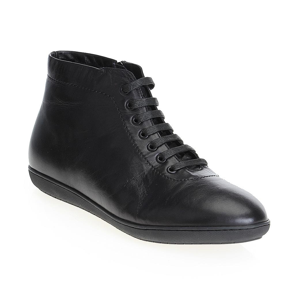 Мужские ботинки CorsoComo (Корсо Комо) 98-206-02312-2 мех Ботинки муж кожа чёрн.