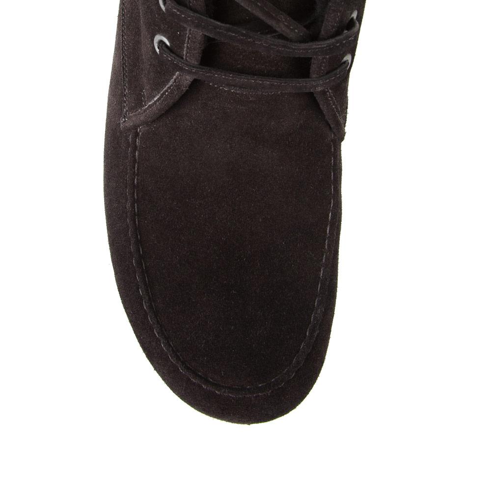 Мужские ботинки CorsoComo (Корсо Комо) 98-235H-0243-2 мех Ботинки муж велюр черн.