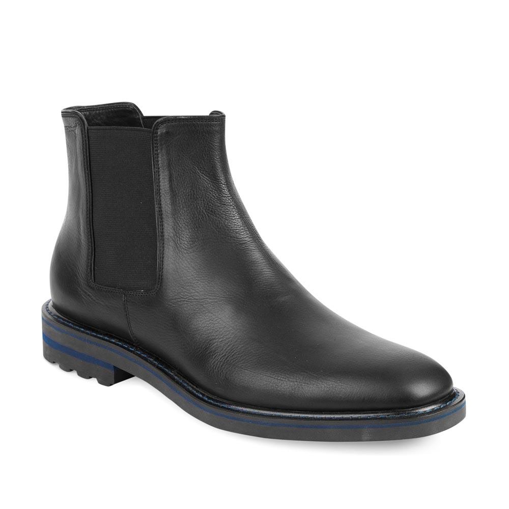 Мужские ботинки CorsoComo (Корсо Комо) 98-307H-10323-7 к.п. Ботинки муж кожа чёрн.