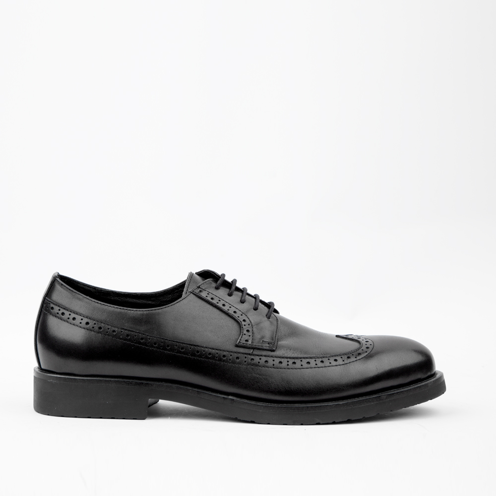 Мужские ботинки CorsoComo (Корсо Комо) V83-088680 к.п. Полуботинки муж кожа черн.