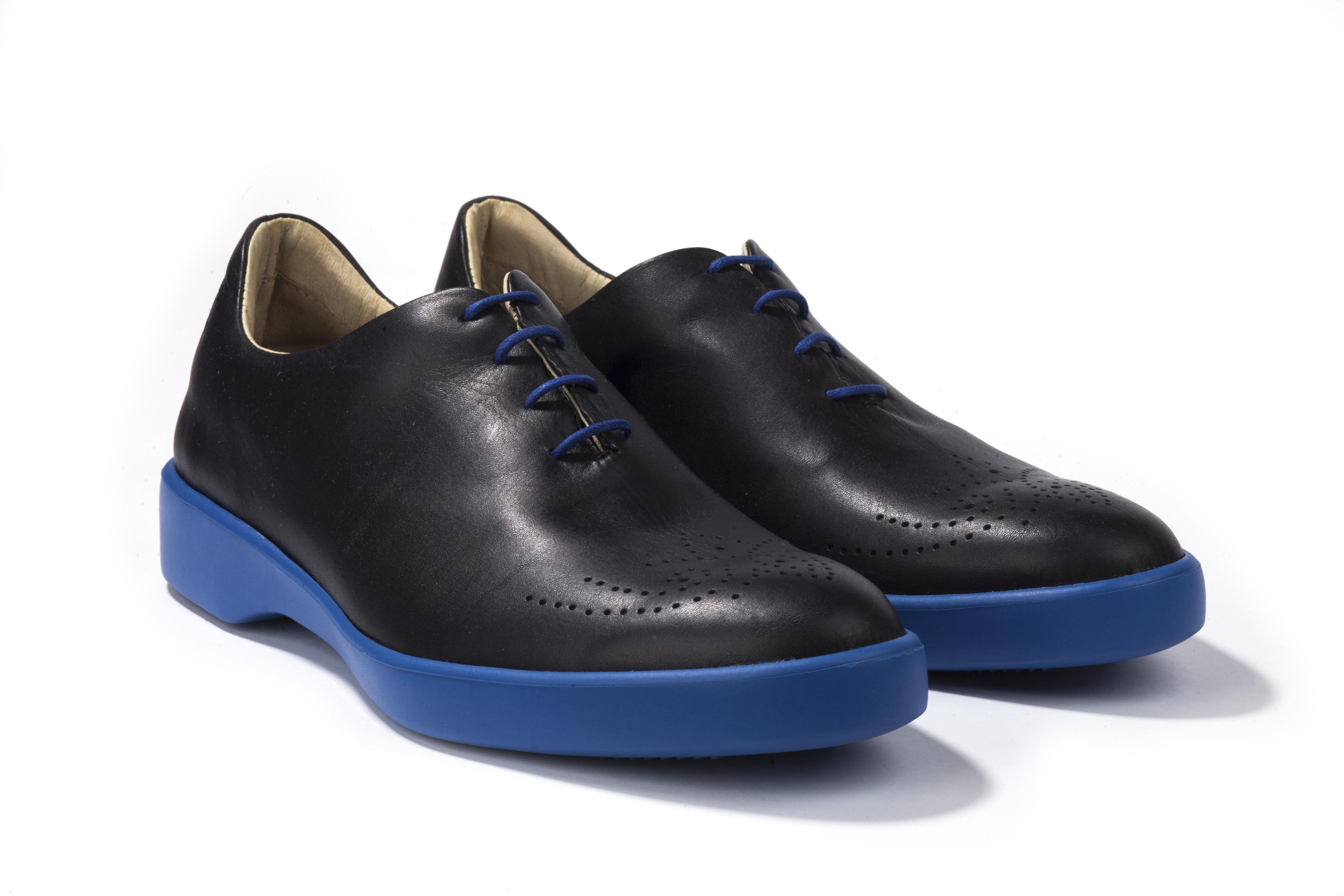 Мужские ботинки POBLENOU Туфли мужские Siam PS71SIA-BK-LL-13
