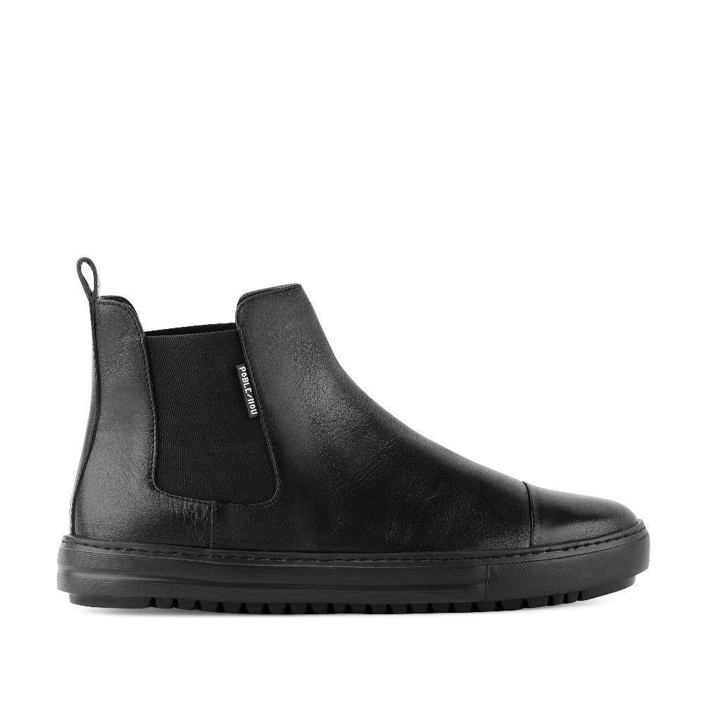 Мужские ботинки CorsoComo (Корсо Комо) Ботинки мужские CHELSEA PW61CHE-BK-LT-01