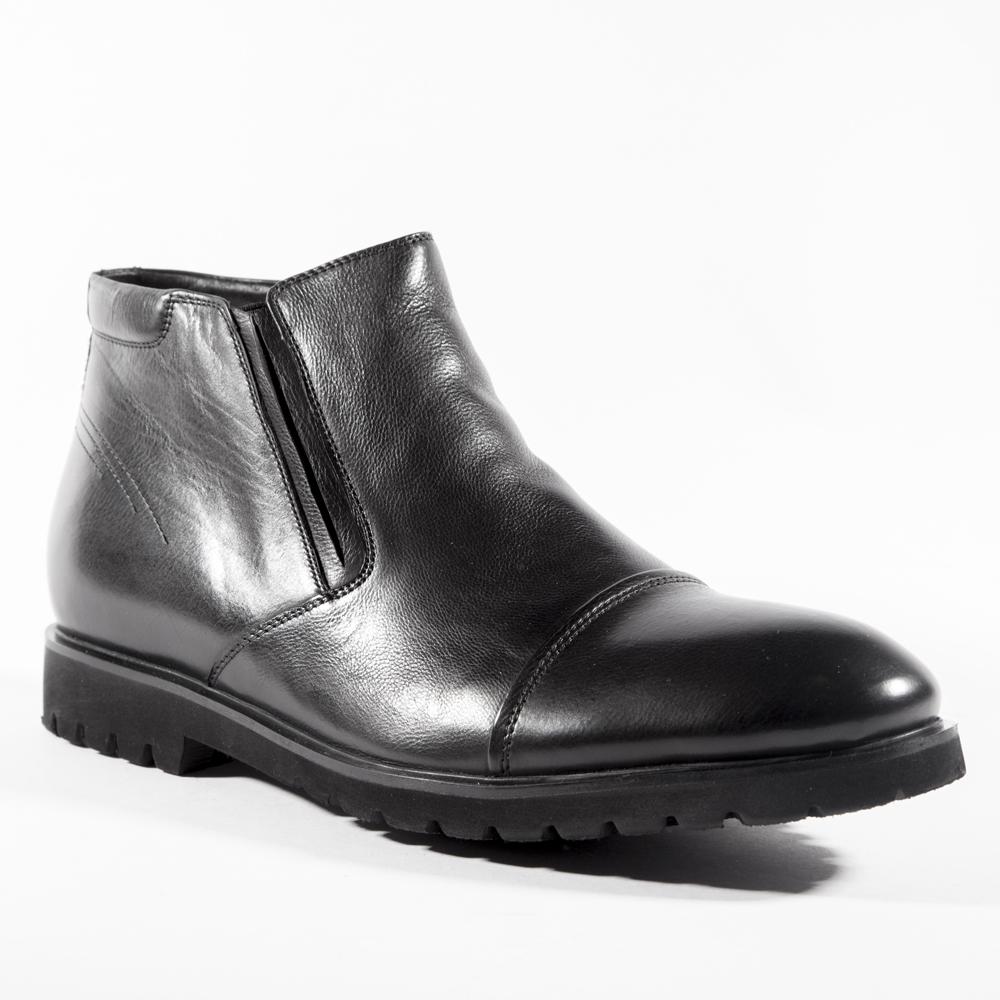 Мужские ботинки ROSCOTE Кожаные ботинки с мехом на протекторной подошве