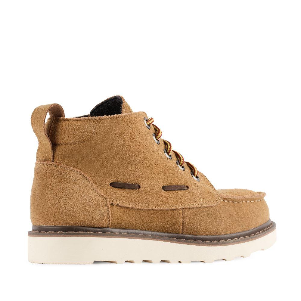 Женские ботинки CorsoComo (Корсо Комо) 05-H-3-2 т.п. Ботинки жен спилок беж.