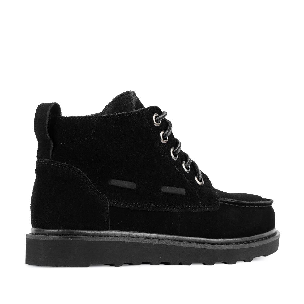 Женские ботинки CorsoComo (Корсо Комо) 05-H-3-3 т.п. Ботинки жен спилок черн.