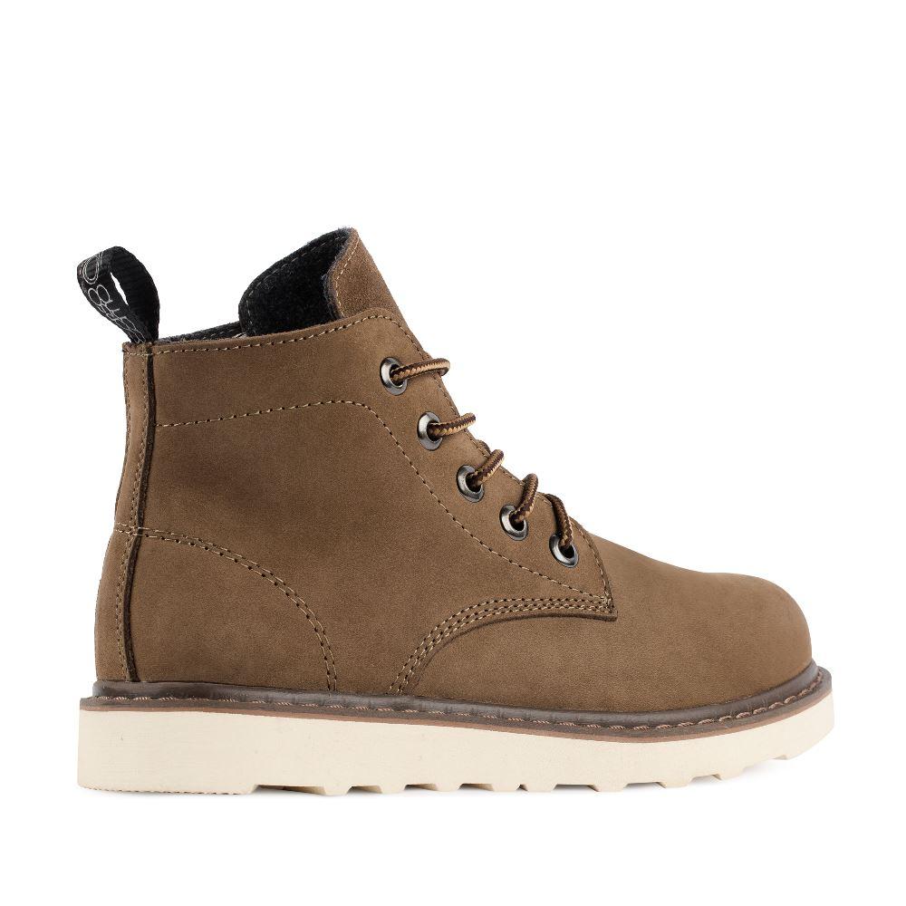 Женские ботинки CorsoComo (Корсо Комо) 05-H-5-3 т.п. Ботинки жен нубук т.кор.