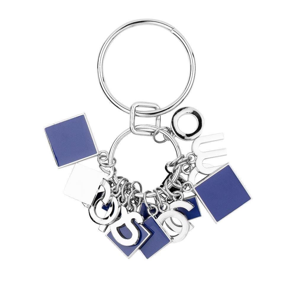 Металлический брелок кобальтового цветаБрелок <br><br><br>Материал верха: Металл<br><br>Цвет: Синий<br><br>Дизайн: Италия<br><br>Страна производства: Китай<br><br>Материал верха: Металл<br>Цвет: Синий<br>Вес кг: 1.00000000<br>Размер: Без размера