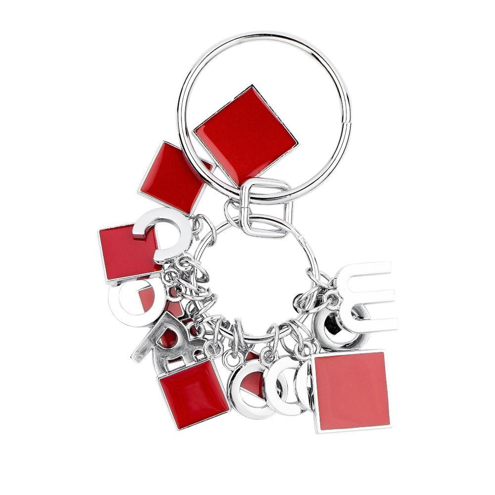 Металлический брелок алого цветаБрелок <br><br><br>Материал верха: Металл<br><br>Цвет: Красный<br><br>Дизайн: Италия<br><br>Страна производства: Китай<br><br>Материал верха: Металл<br>Цвет: Красный<br>Вес кг: 1.00000000<br>Размер: Без размера