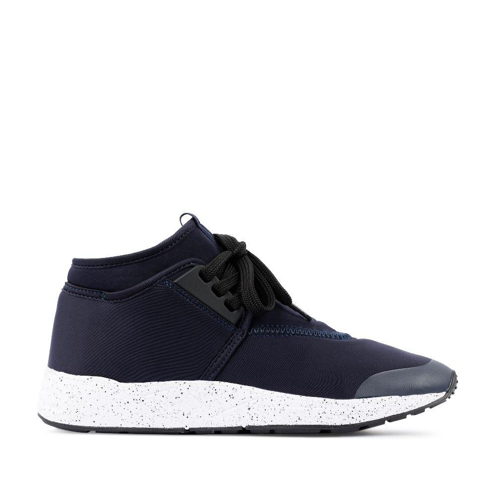 Кроссовки из неопрена синего цвета