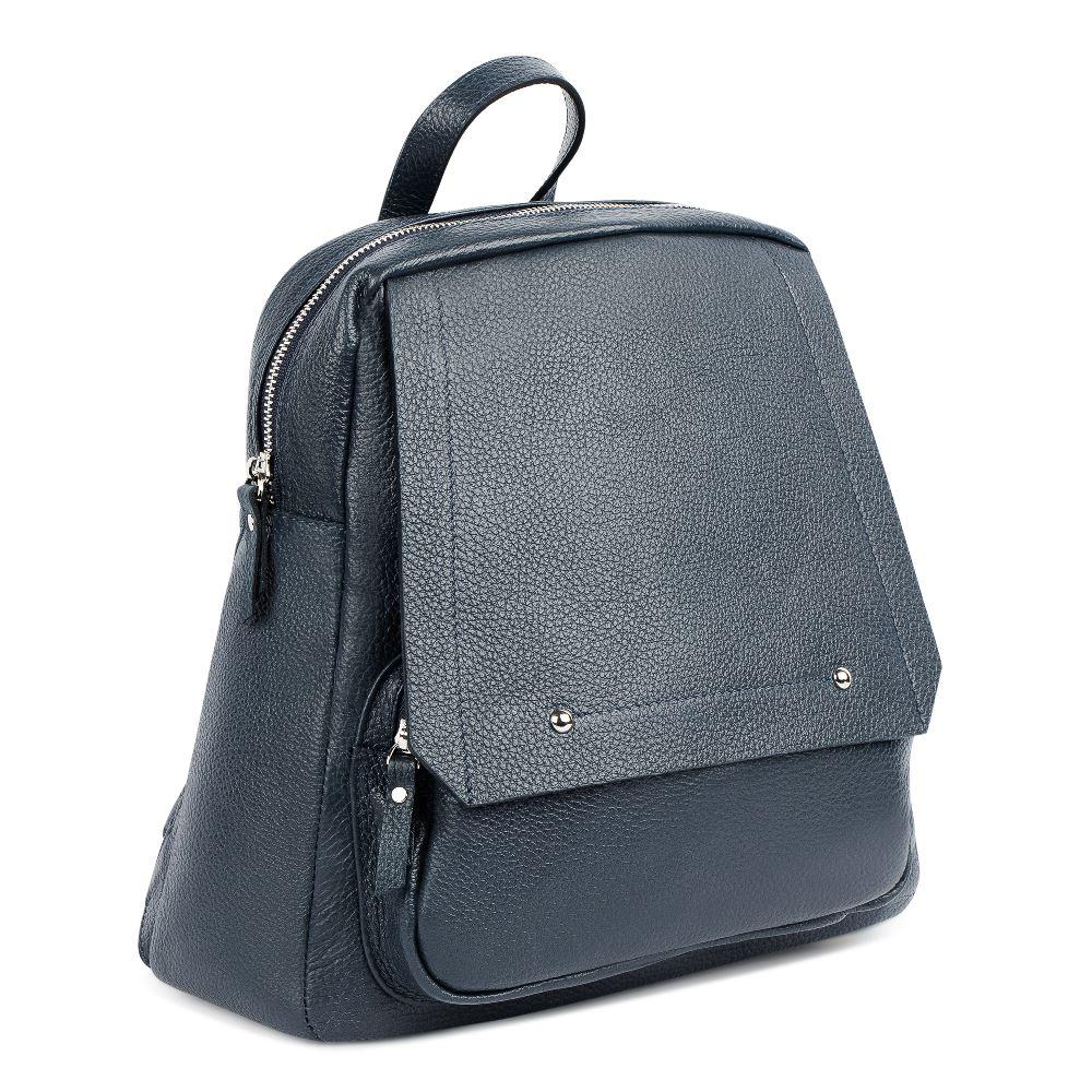 Сумка CorsoComo (Корсо Комо) Рюкзак из кожи темно-синего цвета