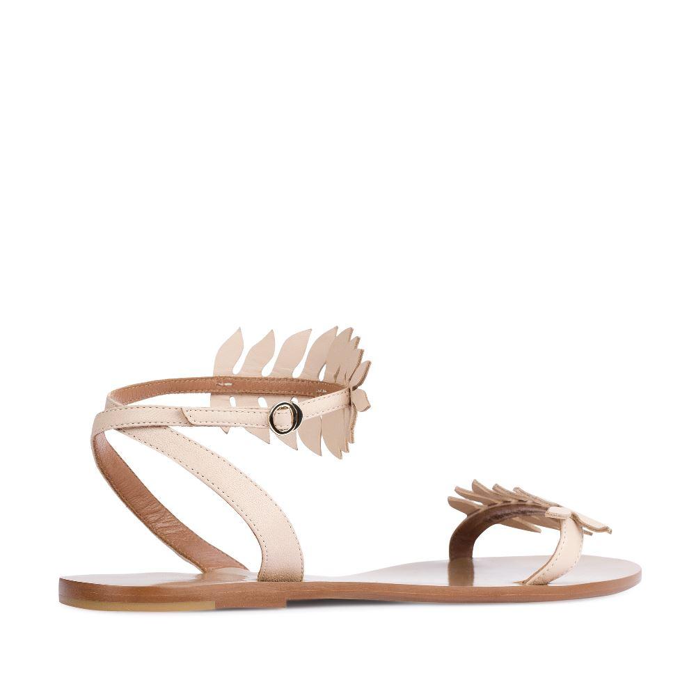 Женские сандалии CorsoComo (Корсо Комо) 17-005-01-39-35 к.п. Сандалеты жен кожа беж.
