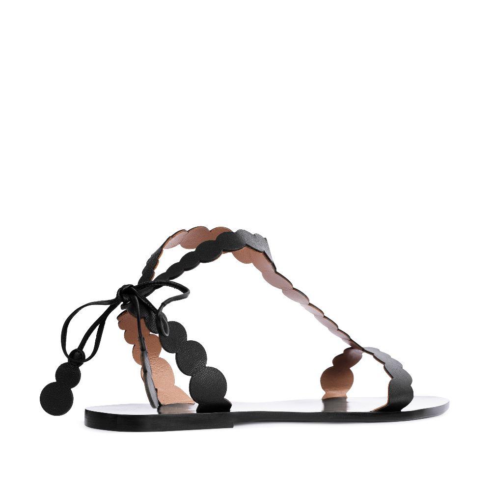 Женские сандалии CorsoComo (Корсо Комо) 17-005-01-43-45 к.п. Сандалеты жен кожа черн.