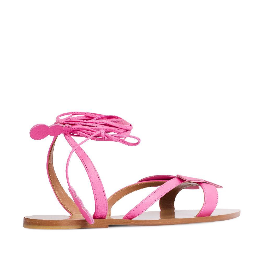 Женские сандалии CorsoComo (Корсо Комо) 17-005-01-45-25 к.п. Сандалеты жен кожа роз.