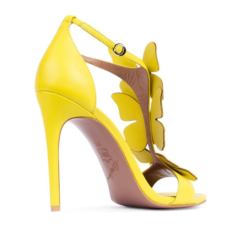 Женские босоножки CorsoComo (Корсо Комо) 17-352-01-128-55 к.п. Туфли жен кожа жёлт.