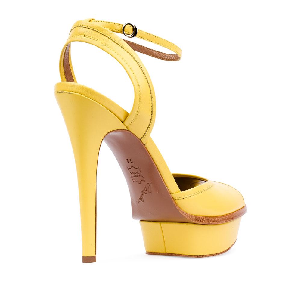 Женские босоножки CorsoComo (Корсо Комо) 17-352-06-24-15 к.п. Туфли жен кожа желт.