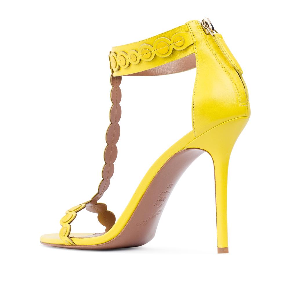 Женские босоножки CorsoComo (Корсо Комо) 17-352-09-98-55 к.п. Туфли жен кожа жёлт.