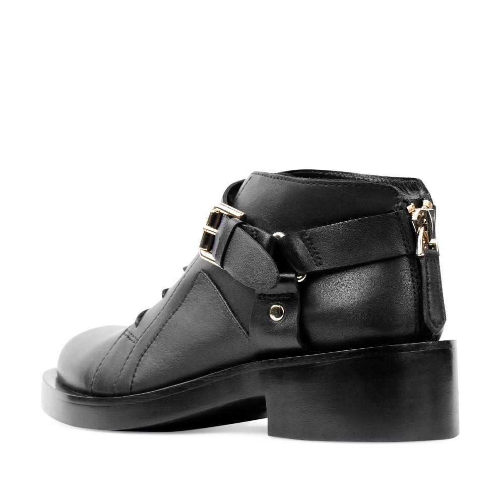 Женские ботинки CorsoComo (Корсо Комо) 17-453-01-14-205 к.п. Ботинки жен кожа черн.